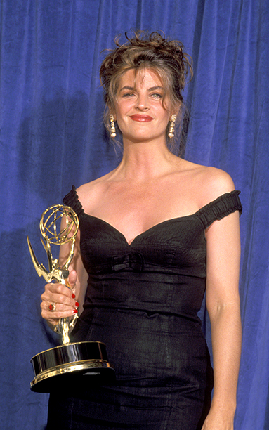 Outstanding Lead Actress in a Comedy Series Winner Kirstie Alley (Cheers)
