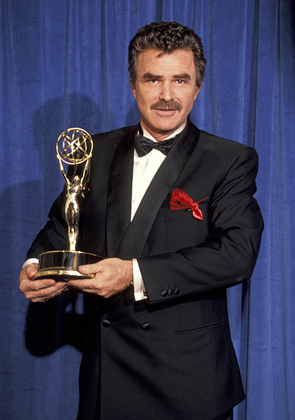 Outstanding Lead Actor in a Comedy Series Winner Burt Reynolds (Evening Shade)