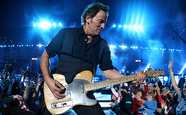 Bruce Springsteen and the E Street Band at Super Bowl XLIII on February 1, 2009