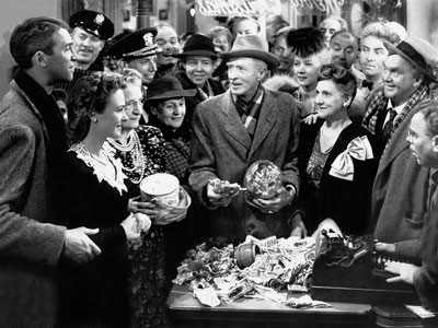It's a Wonderful Life, Donna Reed, ... | The misty awwws for Frank Capra's crisp holiday classic start as soon as the film opens with prayers for George Bailey (James Stewart). Bewildered angel-in-training…