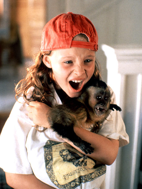 Thora Birch | Key Role: Dodger, a monkey pickpocket who bonds with a little girl (Thora Birch) in Monkey Trouble (1994). Oscar-worthy Moment: Finster seems poignantly torn between…