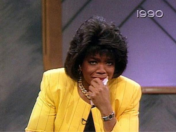 Oprah Breaks Down