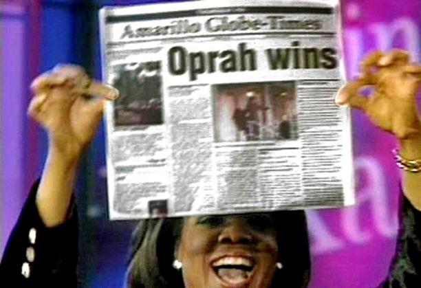 Oprah Slams Beef