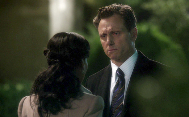"""Olivia and Fitz in """"Happy Birthday, Mr. President"""" on Scandal"""