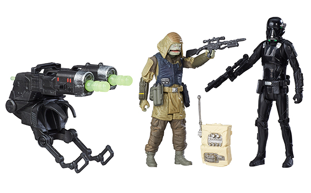 Rebel Commando Pao and Imperial Deathtrooper