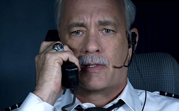 "ALL CROPS: SULLY (2016) TOM HANKS as Chesley ""Sully"" Sullenberger (CR: Warner Bros.)"