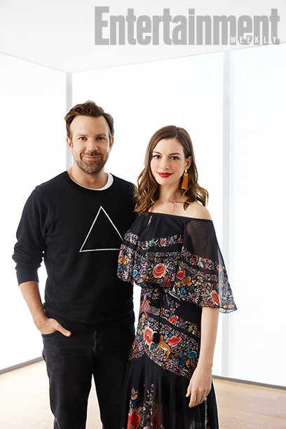 Jason Sudeikis and Anne Hathaway, Colossal