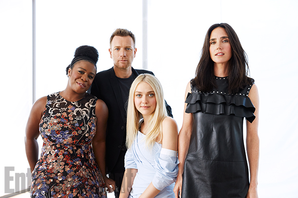 Uzo Aduba, Ewan McGregor, Dakota Fanning and Jennifer Connelly, American Pastoral