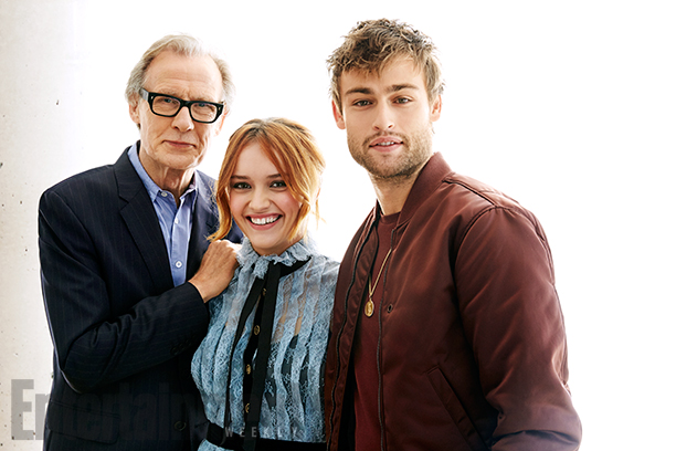 Bill Nighy, Olivia Cooke and Douglas Booth, The Limehouse Golem