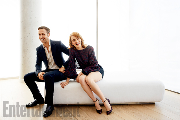 Ryan Gosling and Emma Stone, La La Land