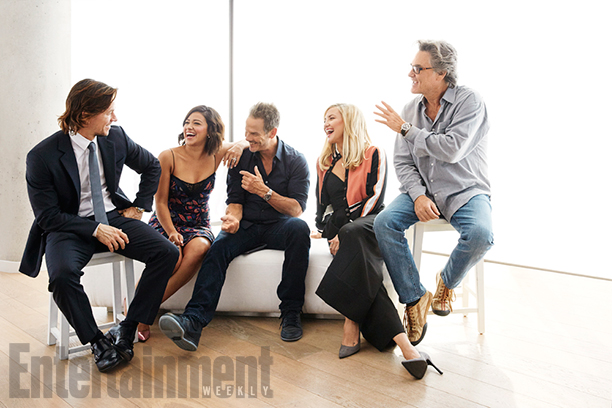 Mark Wahlberg, Gina Rodriguez, Peter Berg, Kate Hudson and Kurt Russell, Deepwater Horizon