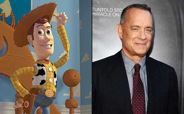 Tom Hanks, Woody, Toy Story