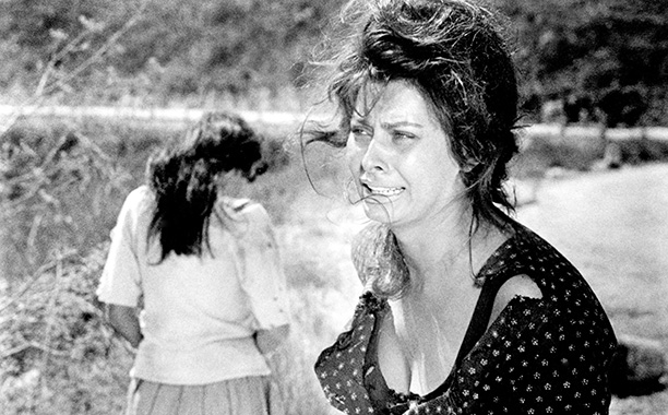 Sophia Loren | Loren was just 25 when she portrayed a shopkeeper enduring the horrors of World War II with her adolescent daughter in Vittorio De Sica's landmark…