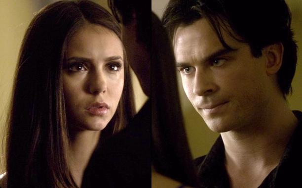 "Damon to Elena in ""Rose"" on The Vampire Diaries"