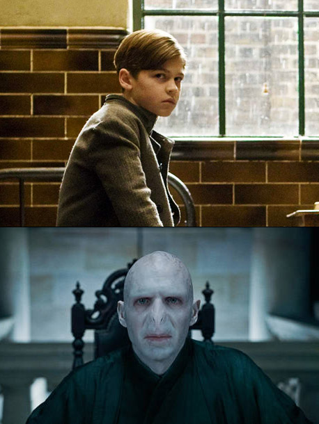 Harry Potter and the Goblet of Fire, Ralph Fiennes | Younger version: Hero Fiennes-Tiffin ( Harry Potter and the Half-Blood Prince , 2009) Older version: Ralph Fiennes (five Harry Potter films, 2005-11) Why it works:…