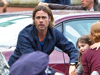Movie Guide, Brad Pitt, ... | ZOMBIE NATION Brad Pitt is riveting in the very entertaining World War Z