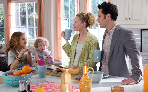 Leslie Mann and Iris and Maude Apatow, Knocked Up