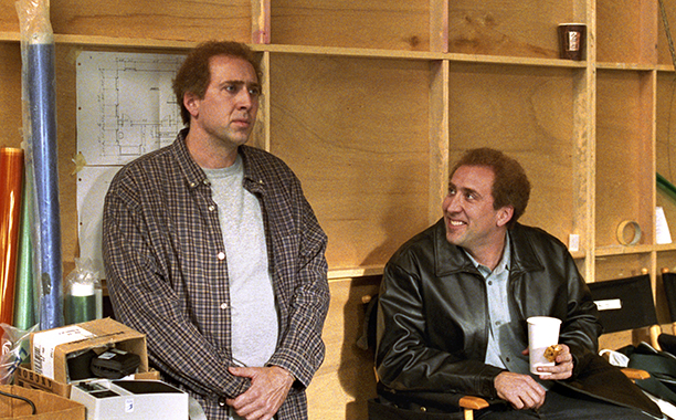 Nicolas Cage as Charlie and Donald Kaufman in Adaptation