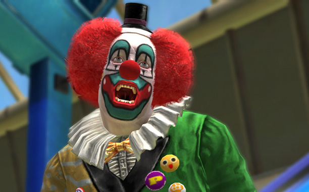 What's scarier than a clown? A clown with a chainsaw. What's scarier than that? A clown with two chainsaws. That's what Dead Rising forces players…
