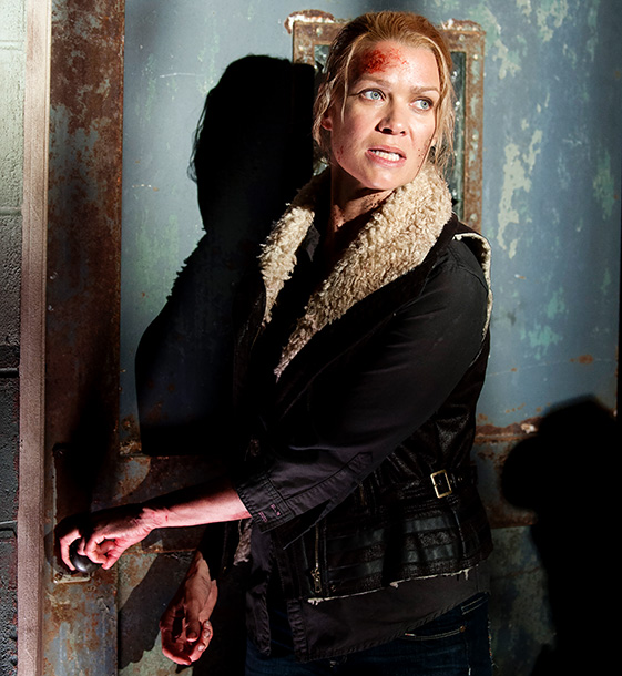 Laurie Holden, The Walking Dead | WARNING: SPOILERS BELOW! A character with an incoherent personality who seemed to reinvent her motivations on a weekly basis, Andrea (Laurie Holden) really began to…