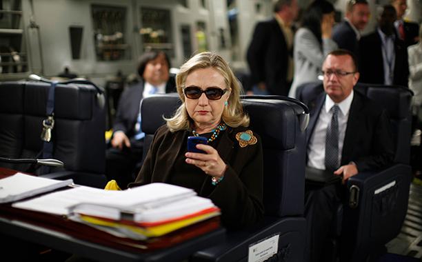 Hillary Rodham Clinton on October 18, 2011