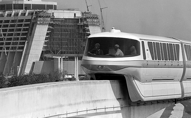 The Monorail in October 1971