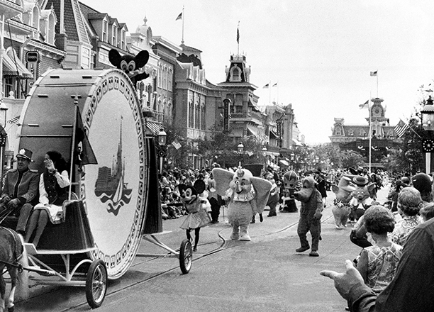 Opening Day Parade Down Main Street, U.S.A.