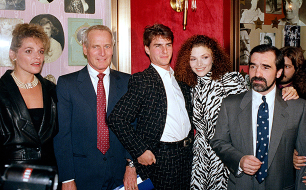 The 1986 Premiere of 'The Color of Money'