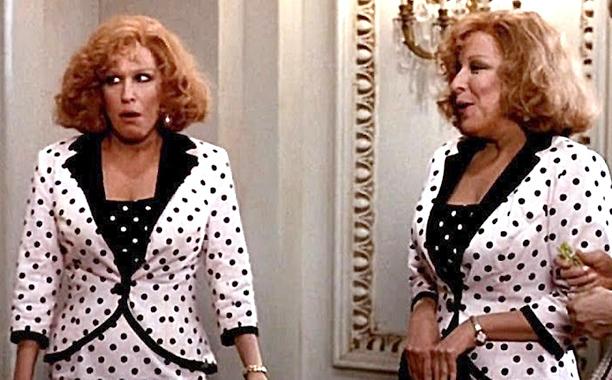 Bette Midler as Sadie Shelton and Sadie Ratliff in Big Business