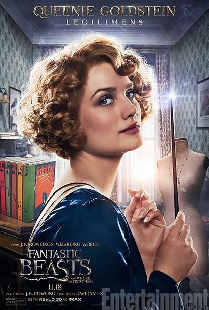 Alison Sudol as Queen Goldstein
