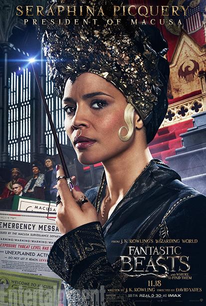 Carmen Ejogo as Seraphina Picquery