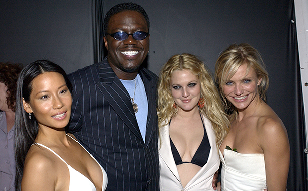 Bernie Mac With Lucy Liu, Drew Barrymore, and Cameron Diaz at the Charlie's Angels: Full Throttle Afterparty on June 18, 2003