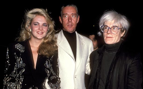 Cornelia Guest, Halston, and Andy Warhol