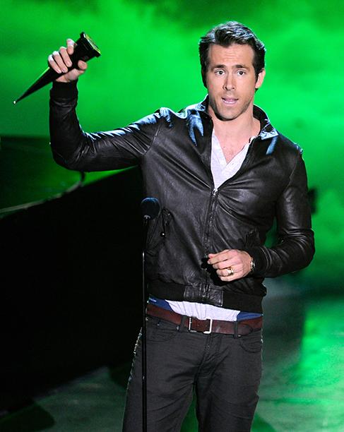 Ryan Reynolds at Spike TV's Scream 2010 in Los Angeles on October 16, 2010
