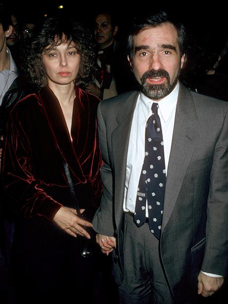 Barbara De Fina and Martin Scorsese