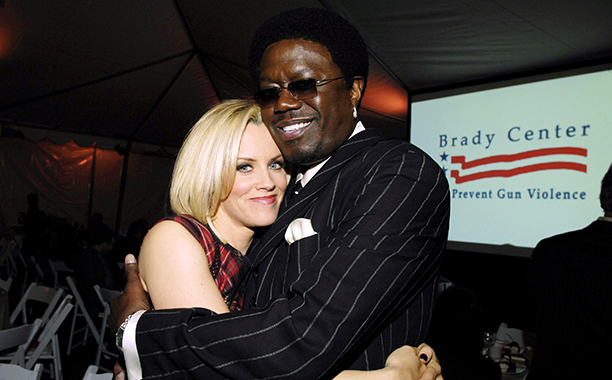 Bernie Mac With Jenny McCarthy at the 2006 Benefit and Awards Ceremony for the Brady Center to Prevent Gun Violence on November 12, 2006