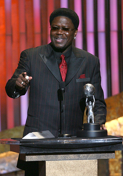 Bernie Mac at the NAACP Image Awards on February 25, 2006