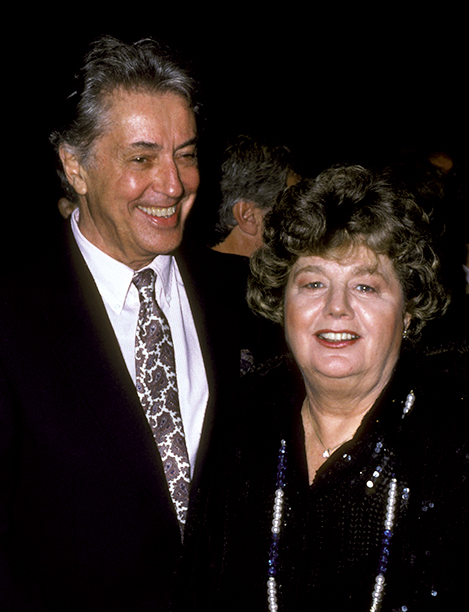 Farley Granger and Shelley Winters