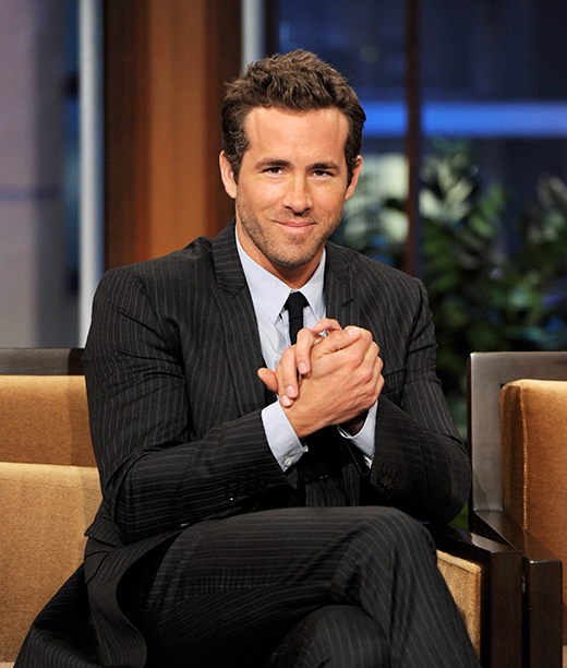 Ryan Reynolds on The Tonight Show with Jay Leno on August 1, 2011