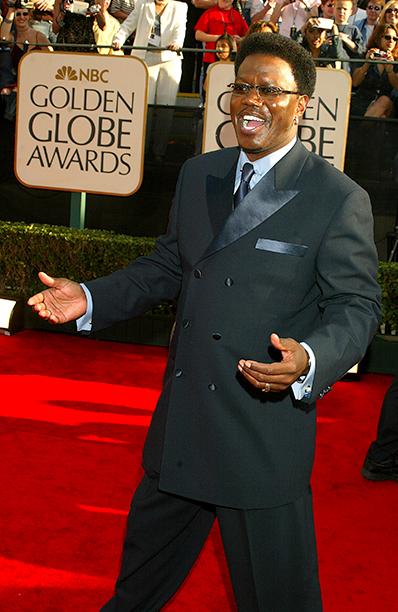 Bernie Mac at the 60th Annual Golden Globe Awards on January 19, 2003