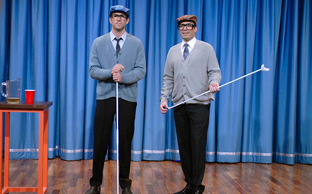 Ryan Reynolds on Late Night with Jimmy Fallon on June 18, 2009