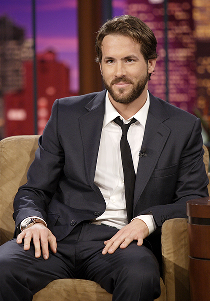 Ryan Reynolds on The Tonight Show with Jay Leno on January 17, 2007
