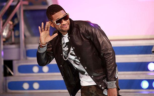 Usher at 106 & Park in New York City on December 5, 2012