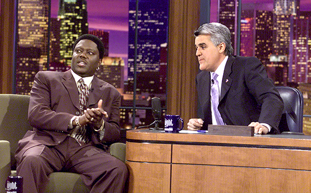 Bernie Mac on The Tonight Show with Jay Leno on December 7, 2001