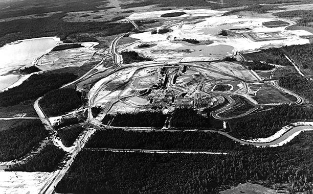 Disney World Under Construction in November 1969