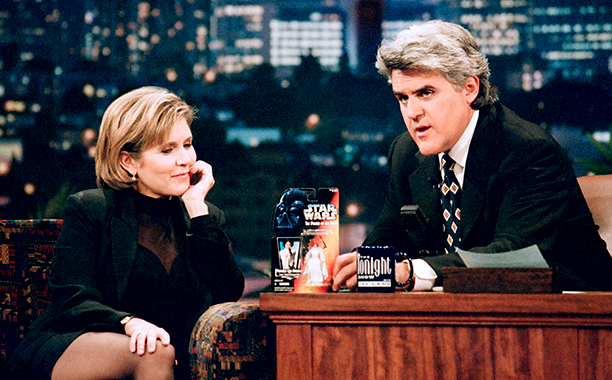 Carrie Fisher on The Tonight Show with Jay Leno on February 10, 1997