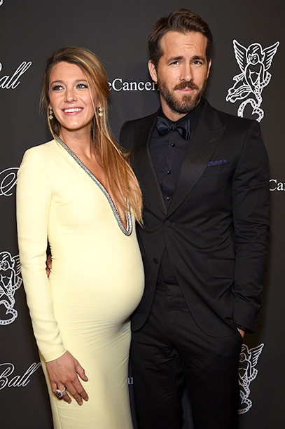 Ryan Reynolds With Blake Lively at the Angel Ball 2014 in New York City on October 20, 2014