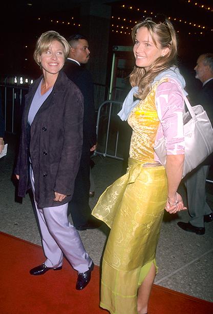 Ellen DeGeneres and Elle Macpherson