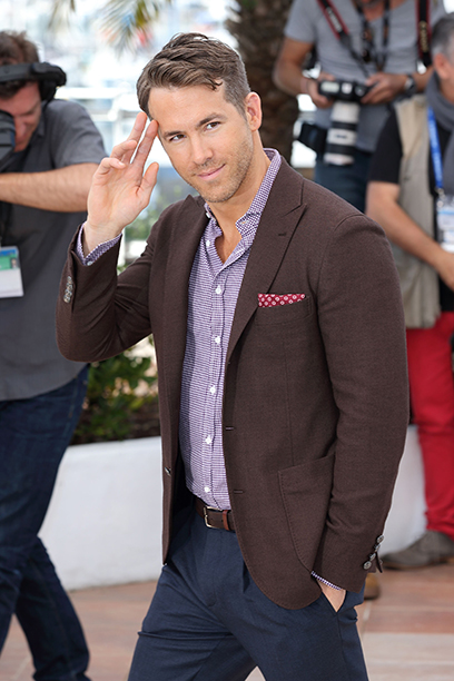 Ryan Reynolds at the Captives Photocall at the 67th Annual Cannes Film Festival on May 16, 2014