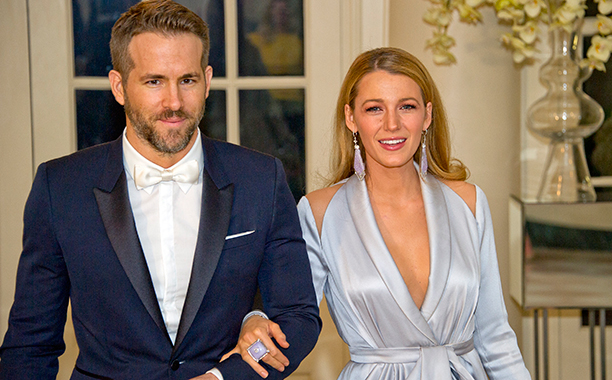 Ryan Reynolds With Blake Lively at the White House on March 10, 2016